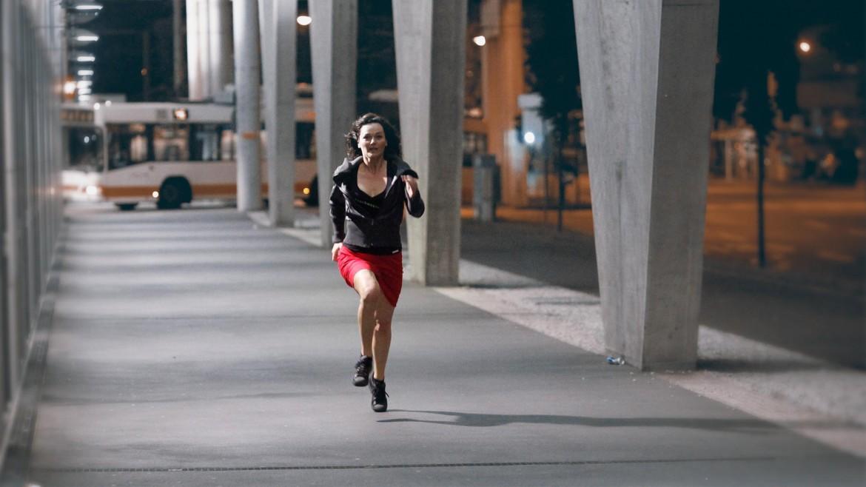 Irene rennt