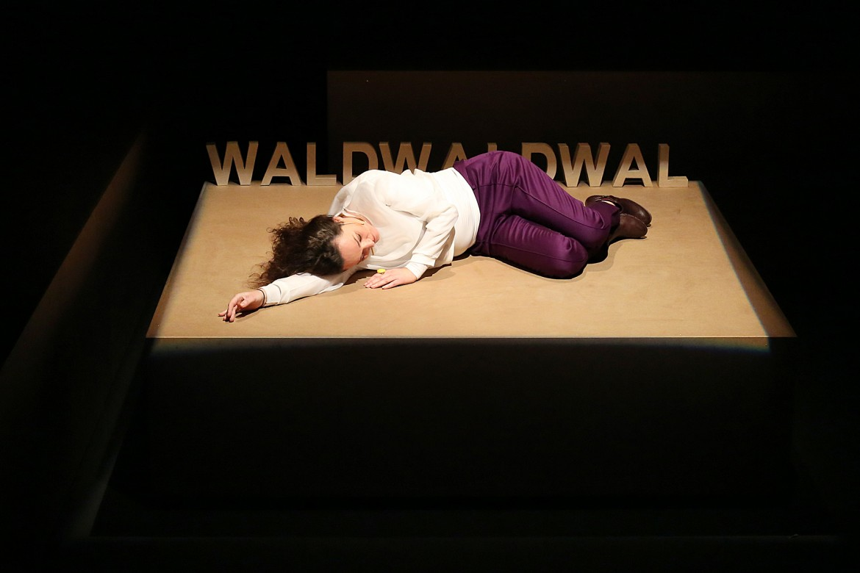 eine einfache geschichte | wald © theaternyx*/reinhard winkler